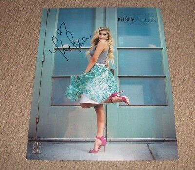 Kelsea Ballerini - Autographed 8X10 Promo Photo *signed* Country Music Star