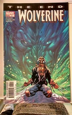 WOLVERINE THE END #4 JERKINS-AUGUST 2004-VG condition, MARVEL