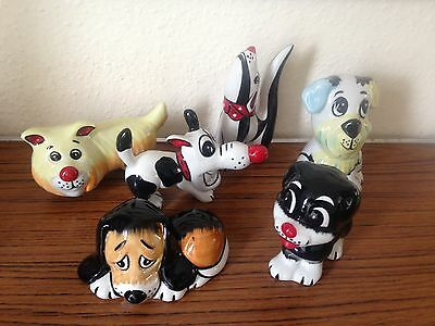 Lorna Bailey Complete Set Of 6 Dogs