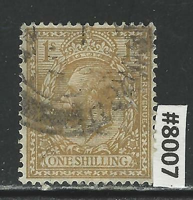 #8007 GREAT BRITAIN Sc#172 Used King George V 1912-13 Combine Shipping