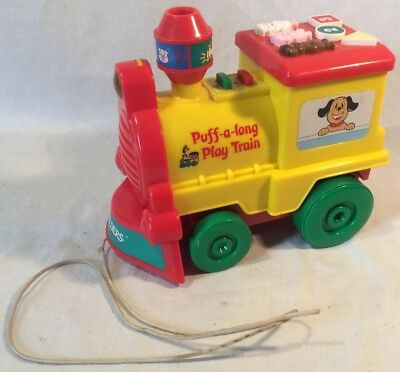 "IQ Builders ""Puff-a-long Play Train"" Musical Educational Activity Toy"