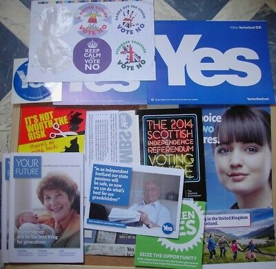 Indyref 1 Literature 2014 - Independence Campaign