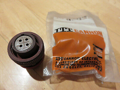 (Lot of 10) ITT CANNON CONNECTOR #5935-00-552-2960