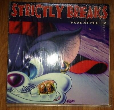 Strictly Breaks 7 Vinyl MF Doom A Tribe Called Quest Wu Tang Clan Dr Dre BDP KMD
