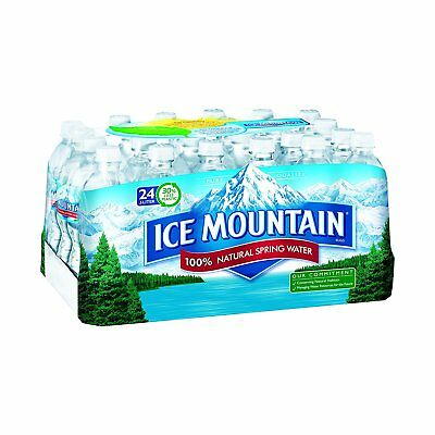 Ice Mountain Brand Natural Spring Water, 24 pk, 16.9 oz