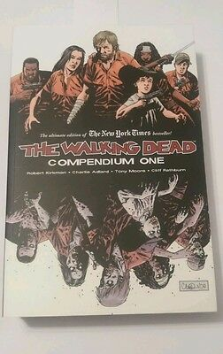 Walking Dead Compendium One collects #1-48  excellent condition free postage