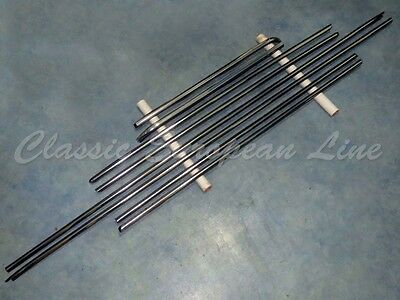 Mercedes Benz W114, W115, 250, 280, C, CE, coupe, moulding set with clips. New.