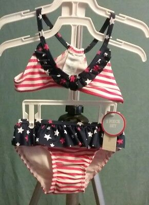 Wonderkids Girls Size 2T Two-Piece Swimsuit Nwt