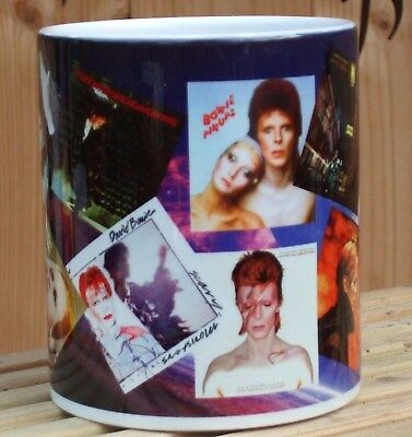 David Bowie albums tribute  mug