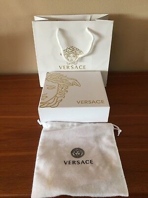 VERSACE Belt Box, Dust Bag & Carrier Bag - Gift Box / Gift Bag with Tags & Card