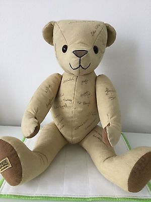 Merrythought Signature Bear A Unique Opportunity To Buy A Truly Special Bear!