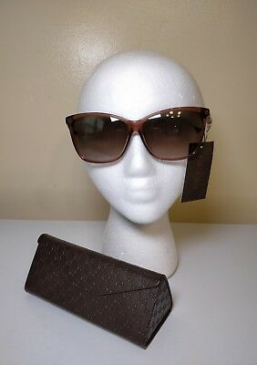 fd8a42a35b1d1 NEW WOMENS SUNGLASSES GUCCI GG3854 F S Tortoise Brown - ITALY ...