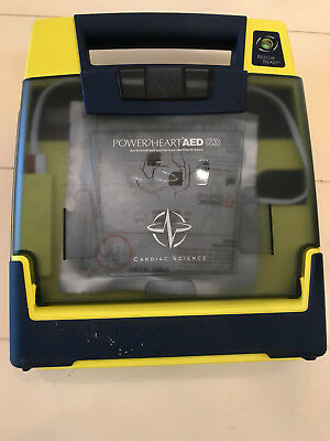 Cardiac Science Cor PowerHeart AED G3 9300e-101 with Pad and Battery