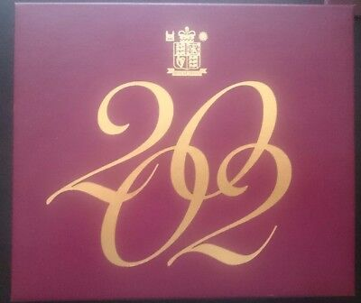 2002 PROOF COIN YEAR SET (UK Royal Mint) in box with certificate