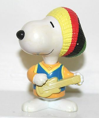 McDonald Snoopy World Tour Jamaica Toy Kids 1999 Happy Meal Peanuts 3.25""