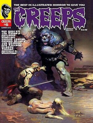 The Creeps #6 Warrant (Warren Style) Horror Monster Comic Magazine  Hot Title!