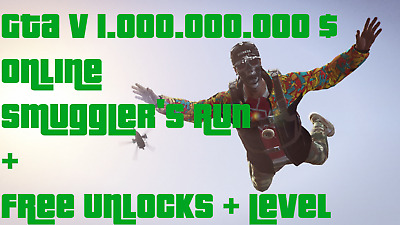 [GTA V] 1.000.000.000$ Money/Cash/Shark [PC] +Custom Level +Unlocks
