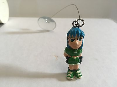 Vintage KOF LEONA FIGURINE sucker suction cup King of Fighters figure toy