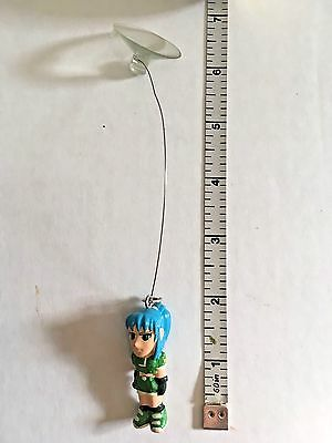 Vintage KOF LEONA FIGURINE sucker suction cup King of Fighters figure toy SNK