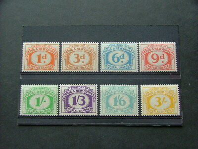 Papua New Guinea 1960 Postage Due Issue SGD7-D14 MM