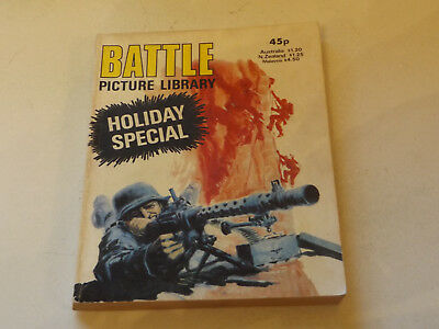 BATTLE PICTURE LIBRARY,HOL SP,dated 1981!,V GOOD FOR AGE,VERY RARE,36 yrs old.
