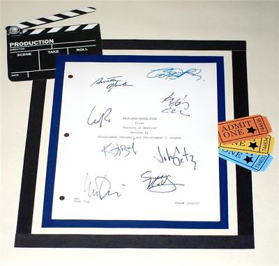HALT AND CATCH FIRE PILOT SCRIPT SIGNED  LEE PACE  SCOOT McNAIRY  KERRY BISHE