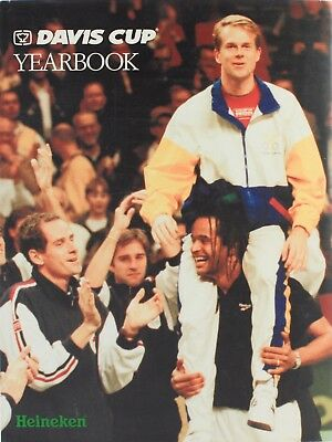 Davis Cup Yearbook Tennis 1996 Itf - Boris Becker, Michael Chang, Arnaud Boetsch
