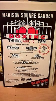 Rare Boxing Poster Collection