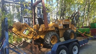 CASE DH4B Trencher Plow Boring Machine VIBE PLOW 613hrs Everything works