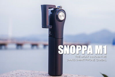 SNOPPA M1 3-Axis Gimbal Stabiliser for All Smartphones [from Indiegogo campaign]