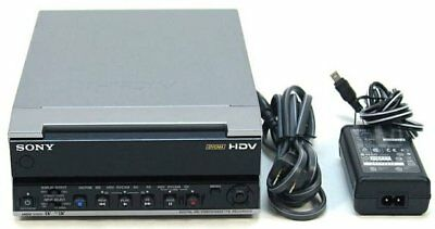 Sony HVR-M15U NTSC/PAL 1080i HDV DVCAM DV Digital Video Player Recorder VCR 10H