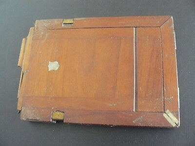 Early Photography - Double Dark Slide in book format