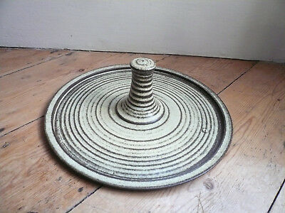 Studio Pottery Cheese Board Serving Plate Broadstairs