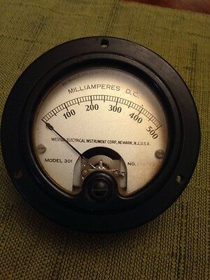 Weston Mod.301 Weston Electric Panel Meter