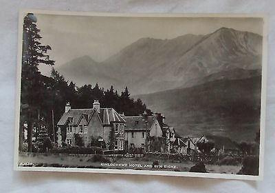 Vintage J.B.White Real Photo POSTCARD - KINLOCHEWE HOTEL & BEN EIGHE, Highlands