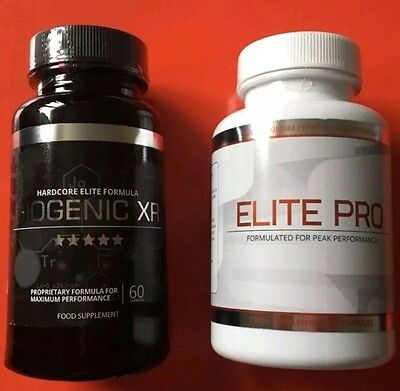 Biogenic XR and elite pro brand new 60 capsules in each tub Plus Free Gift 🎁