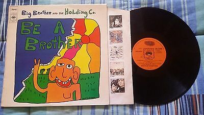 LP Big Brother And The Holding Co. – Be A Brother - 33 giri - EX/EX-