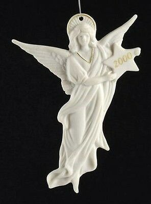 "Wedgwood China 4 1/2"" 2000 ANGEL Ornament - Discontinued!"
