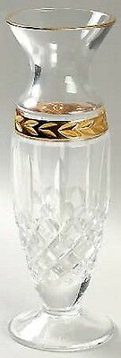 "Lenox Crystal 7"" MAJESTIC GOLD Bud Vase - Discontinued!"