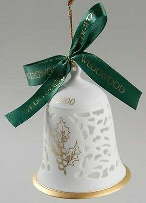 "Wedgwood China 4"" 2000 PIERCED BELL Ornament - Discontinued!"