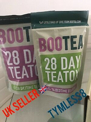 New Genuine Bootea 28 Day Teatox (Box Included)