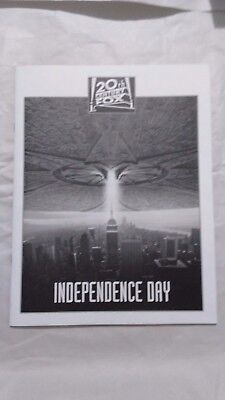 Independence Day press kit with book and 2 stills