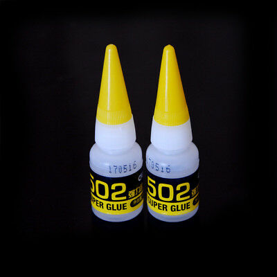 2pcs 502  SUPER GLUE CYANOACRYLATE ADHESIVE ^^ FT