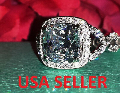 CERTIFIED SONA 4 5 6 7 8 nscd 3ct diamond ring engagement proposal  PT950  VVS1