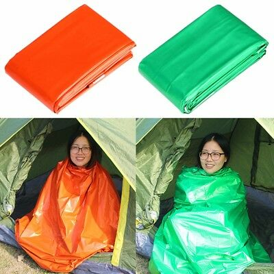 210 * 130cm Thicken Warming Emergency Blanket Climbing Outdoor Survival Kits Res