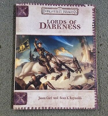 Dungeons and Dragons 3rd Edition Lords of Darkness