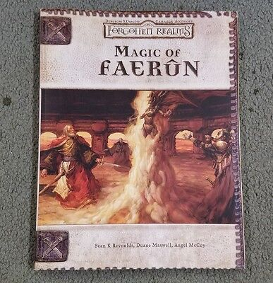 Dungeons and Dragons 3rd Edition Magic of Faerun