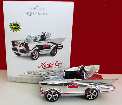 Hallmark Ornament 1966 Batmobile Classic TV Show Kiddie Car Ltd Edition 2017