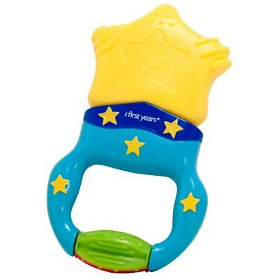 Massaging Action Teether Infant Gentle Vibrating Comfort Baby Bites Toy New