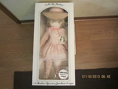 """Vintage Large Pauline Cloth Doll In Box-22"""" Tall-""""Diana"""" 1970's/Early 1980s"""